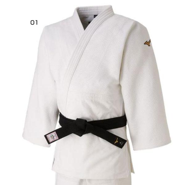 標準サイズ ミズノ Mizuno メンズ レディース 優勝 上衣 ウェア 全柔連・IJF新規格基準モデル 柔道衣 22JA8A01 22JA8A0101