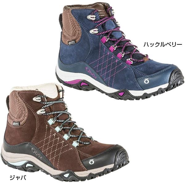 オボズ Oboz レディース サファイア ミッド ビードライ Sapphire Mid B-Dry 登山靴 山登り トレッキングシューズ 70602