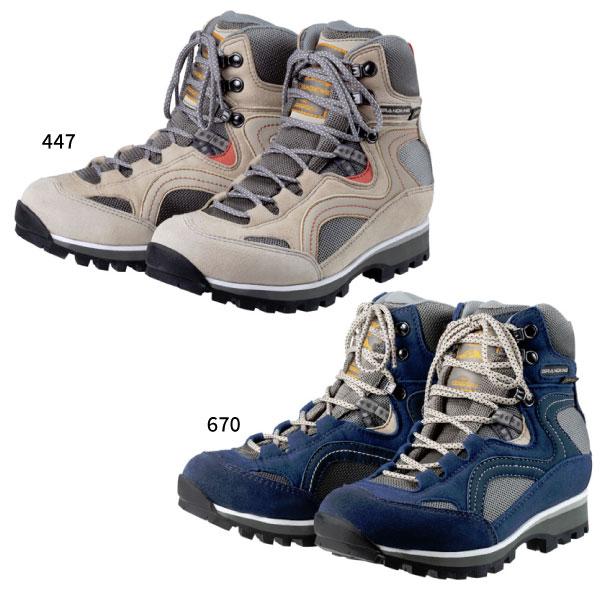 2E-幅 キャラバン CARAVAN レディース GK86 登山靴 山登り トレッキングシューズ グランドキング grandking ハイカット 防水 0011860