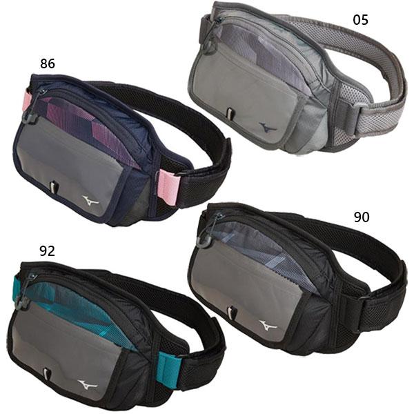 大規模セール  ̄ ウホッ 今なら全品送料無料 メンズ レディース ウエストポーチM ジョギング J3JM9504 マラソン メーカー公式ショップ 鞄 マラソンバッグ Mizuno ミズノ ランニング