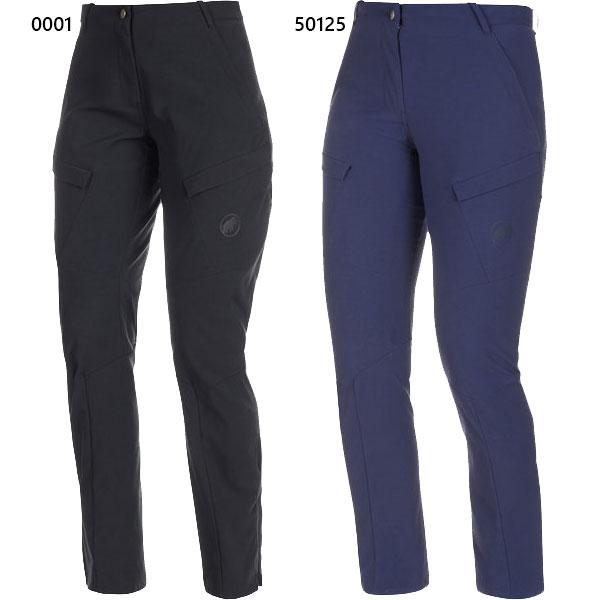マムート Mammut レディース ジナル パンツ アジアンフィット Zinal Pants AF Women アウトドアウェア ボトムス 長ズボン 耐水 ハイキング 1022-00790