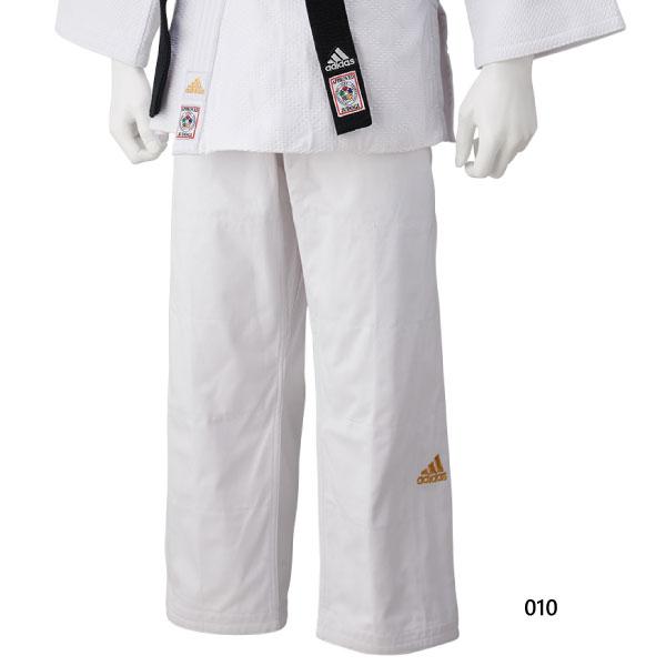 アディダス adidas メンズ レディース ジュニア 柔道着 ゴールドロゴ ウェア 柔道衣 パンツ ズボン 単品 下 JT275SMU