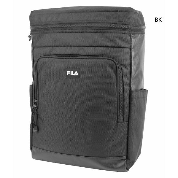 ̄ ウホッ 今なら全品送料無料 メンズ レディース リュックサック デイパック バックパック バッグ 鞄 背面ロゴEVA型押し 人気急上昇 軽量 FL-0007 フィラ 撥水 スクエアリュック FILA 大容量 約20L 新作送料無料