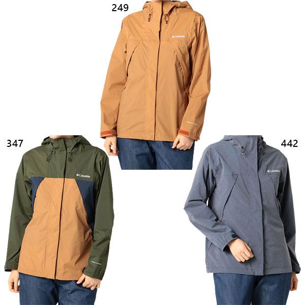 コロンビア Columbia レディース ワバシュ 2 ウィメンズジャケット Wabash II WomenS Jacket アウトドアウェア トップス レインウェア 防水 長袖 PL3162