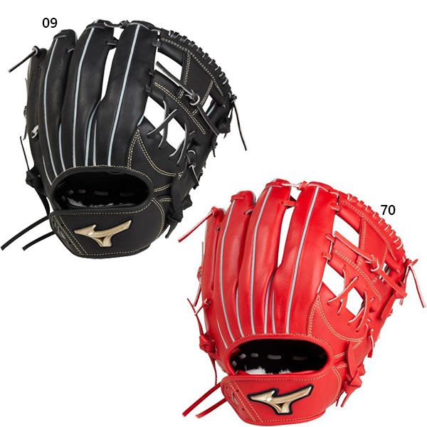 サイズ9 ミズノ Mizuno メンズ レディース 軟式用 グローバルエリート UMiX U4 内野×外野 野球 軟式グラブ グローブ 一般用 1AJGR22540