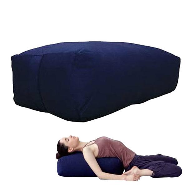 メンズ レディース ボルスター トレーニング ヨガ ピラティス 瞑想 リラックス 角型L ハタ HATAS YK884