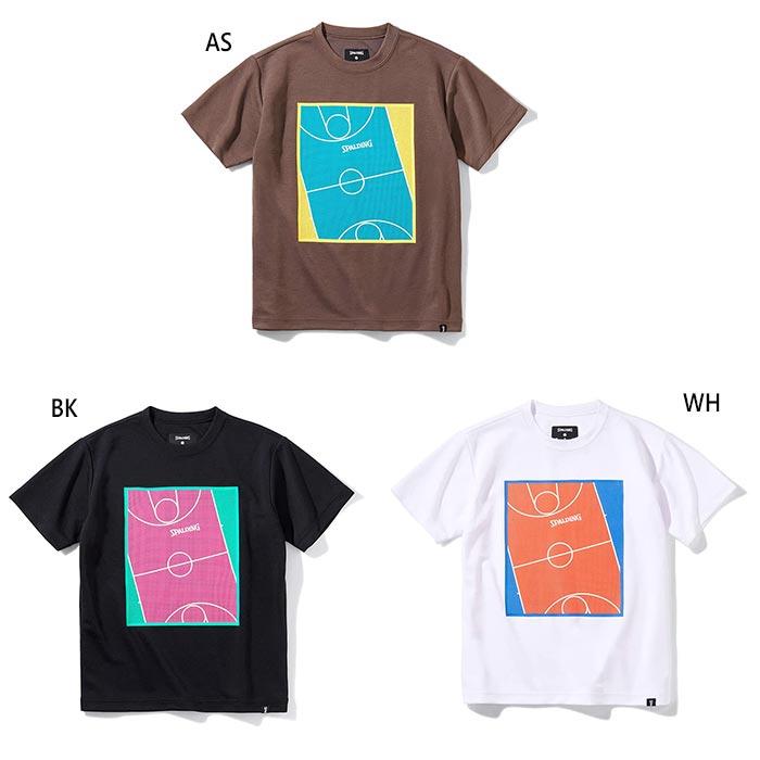 半袖Tシャツ SJT211690 低価格 ジュニア キッズ 高品質 JR T SPALDING スムースDRY バスケットボールウェア トップス プレイフィールド スポルディング