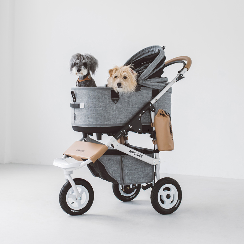 Air Buggy for Dog エアバギーフォードッグブレーキモデルドーム3セットエアバギー 犬 カート