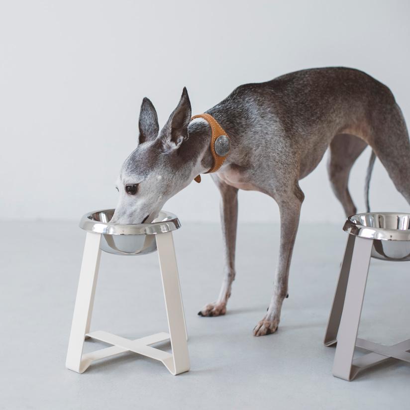 pecolo Food Stand S(hightall) フードボウルスタンド 犬 フードボウル