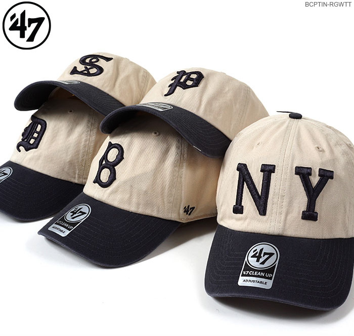 wholesale dealer 690f9 4014f 47 Brand cap COOPERSTOWN  47 CLEAN UP TWO TONE NATURAL 47 Brand (47 ...