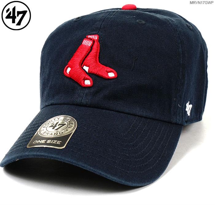 09ab3273ca238 47 brand Cap BOSTON RED SOX   47 CLEAN UP 47 brand Cap (47 brand) buck  strap   Hat   Red Sox  MLB Cap   05P01Oct16