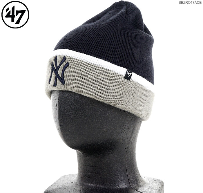 47 Brand beanie YANKEES  47 SUB ZERO CUFF KNIT 47 Brand (47 brands) knit  cap   knit hat  NY  Yankees   254915adcb7
