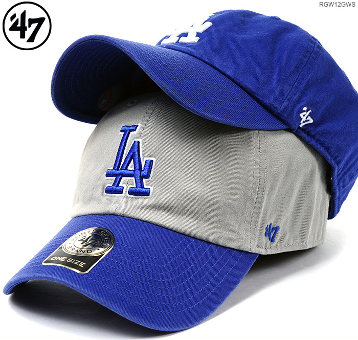c89173ee 47 brand Cap LOS ANGELES DOGERS ' 47 CLEAN UP/47 Brand (47 brand) back  strap / Cap / Los Angeles Dodgers /MLB CAP and 05P28Sep16