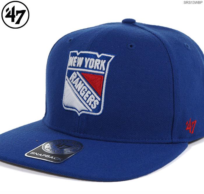 6b1ec7c9ed0 FREEBOX  NEW YORK RANGERS SURE SHOT  47 CAPTAIN 47 Brand (47 brands)  snapback   Rangers   cap  -adaptive