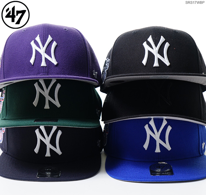 47 brand Cap NEW YORK YANKEES SURE SHOT   47 CAPTAIN 47 Brand (47 brand)-Snapback   MLB Hat NY men s Street   05P01Oct16 8b0804267381
