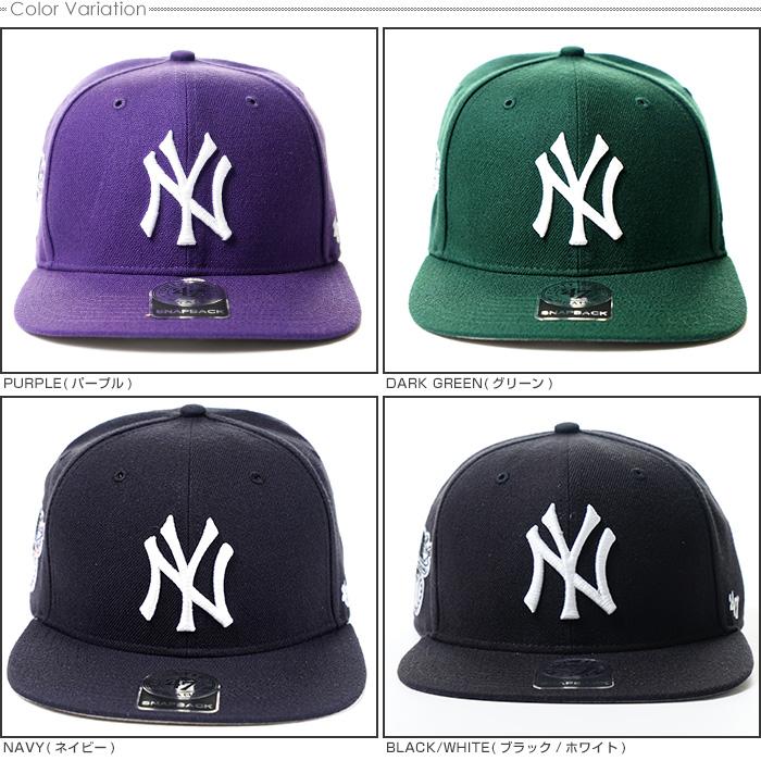 47 brand Cap NEW YORK YANKEES SURE SHOT   47 CAPTAIN 47 Brand (47 brand)- Snapback  MLB Hat NY men s Street   05P01Oct16 e9017d6220e