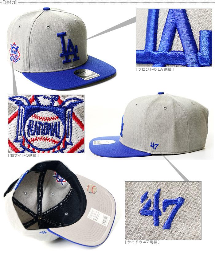 0ec63eab582 47 brand caps DODGERS SURE SHOT TWO TONE   47 Brand CAPTAIN 47 (47 brand)  Snapback   Hat la Dodgers  MLB Cap   mens Street   05P01Oct16