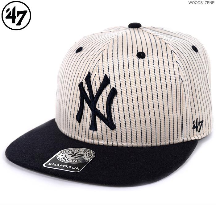 bf5e79381ed2 47Brand cap YANKEES WOODSIDE '47 CAPTAIN/47 Brand (47 brands) MLB cap  /YANKEES/ New York / Yankees / correspondence /