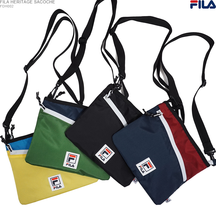 FREEBOX  フィラサコッシュ FILA HERITAGE WAIST BAG shoulder bag ... c5ae731b66827