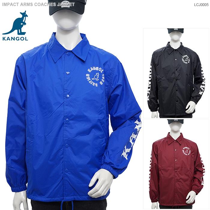 【KANGOL コーチジャケット】カンゴール ジャケット IMPACT ARMS COACHES JACKET カンゴール アウター ストリート あす楽/