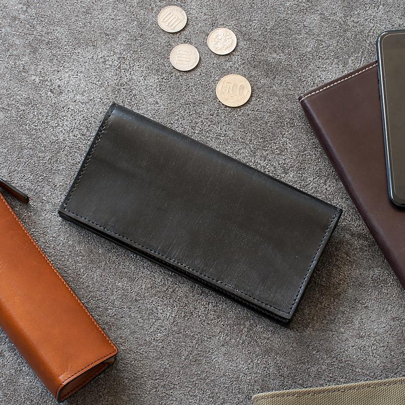 【送料無料】 GLENROYAL(グレンロイヤル) Long Wallet With Coverd Zip (ロングウォレット 長財布)