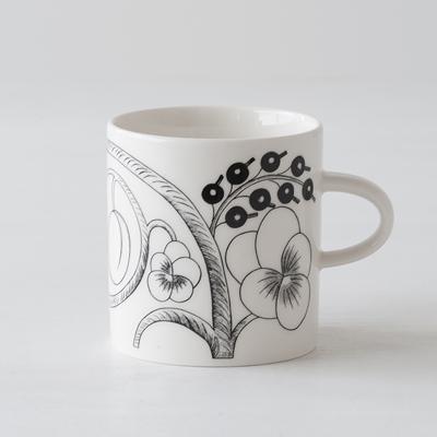 パラティッシ ブラック マグ(アラビア) Paratiisi Black Mug(ARABIA)