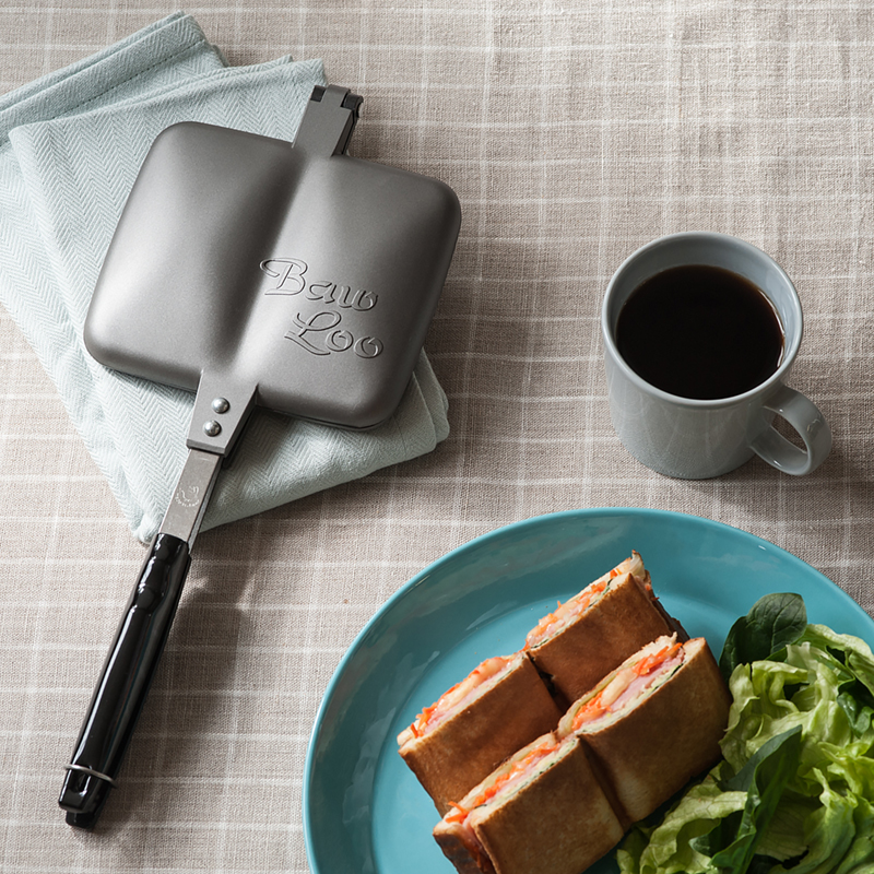 <title>Baw Loo バウルー ホットサンド サンドイッチトースター アウトドア 新品未使用 サンドイッチ トースター</title>