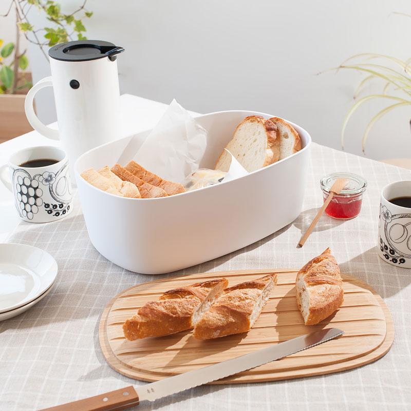 【楽天市場】Stelton(ステルトン) RIGTIG(リグティグ) Bread Box(ブレッドボックス):free design(フリーデザイン)
