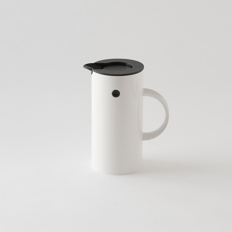 【送料無料】Stelton(ステルトン) バキュームジャグ ホワイト 0.5L (Vacuum jug)