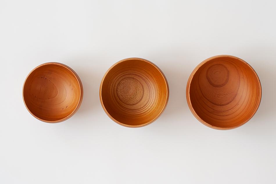 ボウル・深皿・おわん>薗部産業>銘木碗