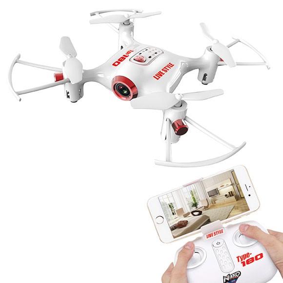 忘年会 ビンゴ 景品 【ハイスペックドローン NIKKO Air Drone LIVE STYLE Type-180】 忘年会 景品 二次会 景品 ビンゴ 景品 コンペ 景品 コンペ賞品 と使い方は自由