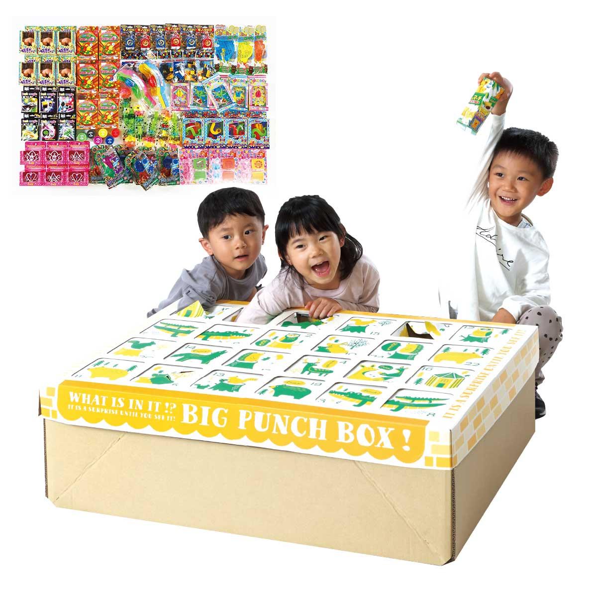 縁日 景品 【ジャンボラッキーパンチBOX本体とおもちゃ景品セット(取寄品)】 縁日セット 夏祭り 景品 夏祭り おもちゃ
