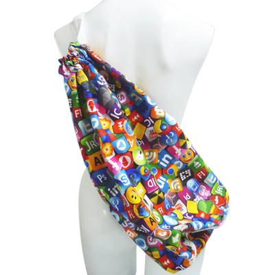 ■最大2000円OFFクーポン配布中■ 69SLAM ロックスラム サブバッグ ICON WALLPAPER 巾着袋 巾着バッグ エコバッグ ベストボディ フィットネス フィジーク [期間限定 今なら500円相当のステッカープレゼント]
