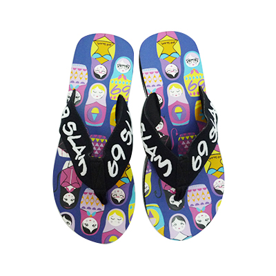 5b53384bcc30cb 69SLAM lock slum beach sandal MATRIOSHKA NAVY  as for a lot of new brand  designs trendy all over the world