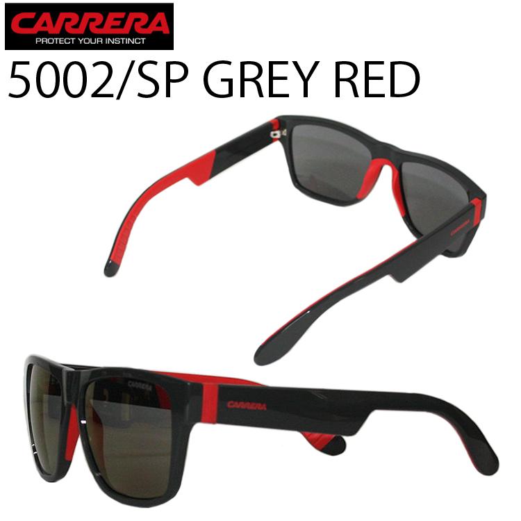 CARRERA カレラ アイウェア 5002/SP グレイ/レッド 正規代理店品 サングラス イタリア GREY あす楽対応