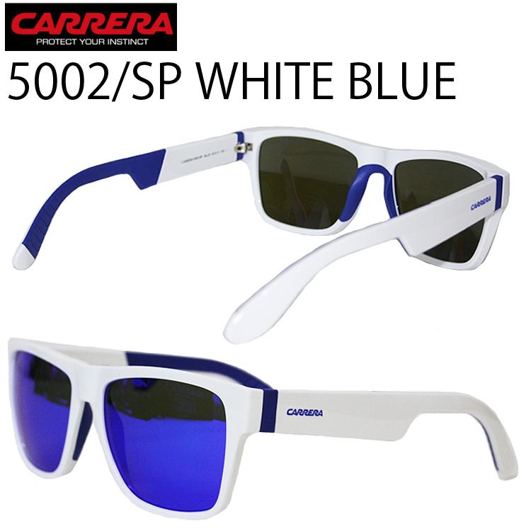CARRERA カレラ アイウェア 5002/SP ホワイトブルー BLUE LENZ 正規代理店品 サングラス イタリア あす楽対応
