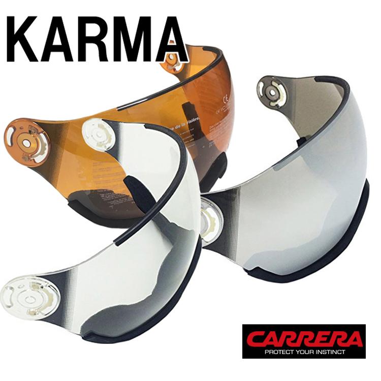 CARRERA カレラ KARMA カルマ バイザー クリアシールド ミラーシールド スキー・スノーボード あす楽対応