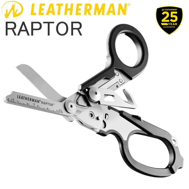 25年保証 LEATHERMAN レザーマン RAPTOR BLACK 6機能マルチツール 正規輸入代理店品 あす楽対応