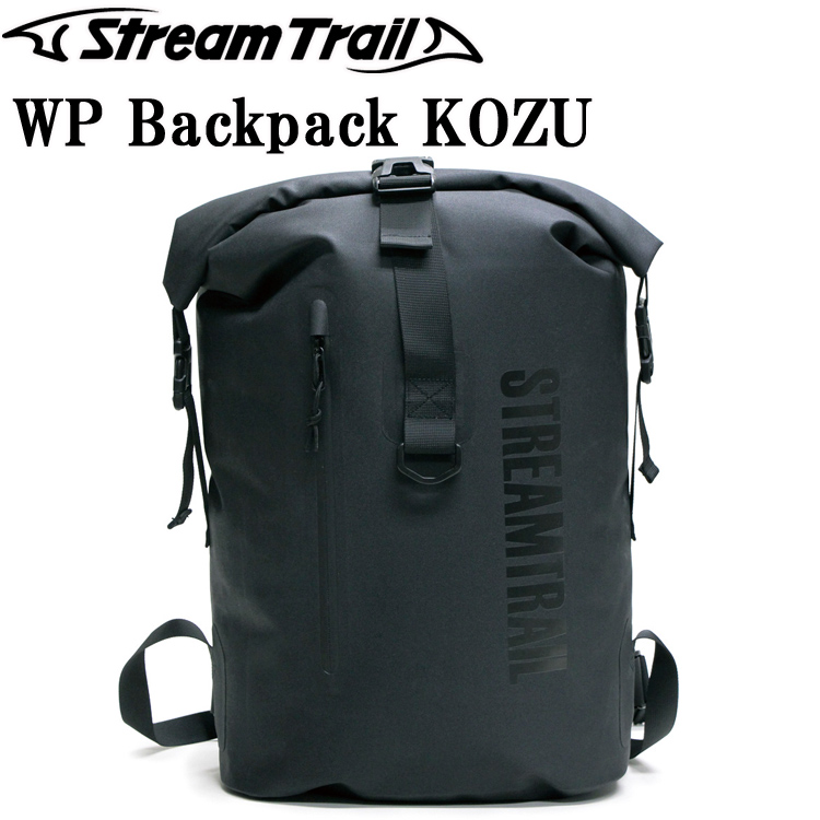 STREAMTRAIL ストリームトレイル WPバックパック コウヅ KOZU 防水バックパック タウンユース あす楽対応