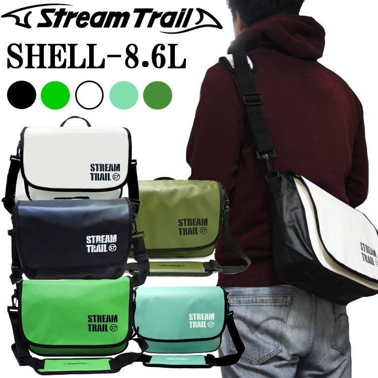 STREAMTRAIL ストリームトレイル SHELL シェル 8.6L 簡易防水ショルダーバッグ 条件付き送料無料 あす楽対応