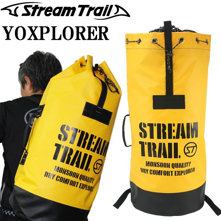 条件付き送料無料 STREAMTRAIL ストリームトレイル YOXPLORER ヨクスプローラー 探検専用バッグ イエロー/ブラック あす楽対応