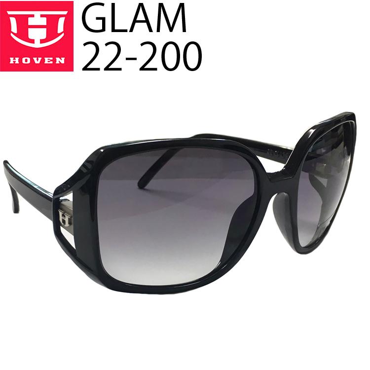 HOVEN ホーベン サングラス GLAM 22-200 ブラックグロスフレーム フェードレンズ あす楽対応