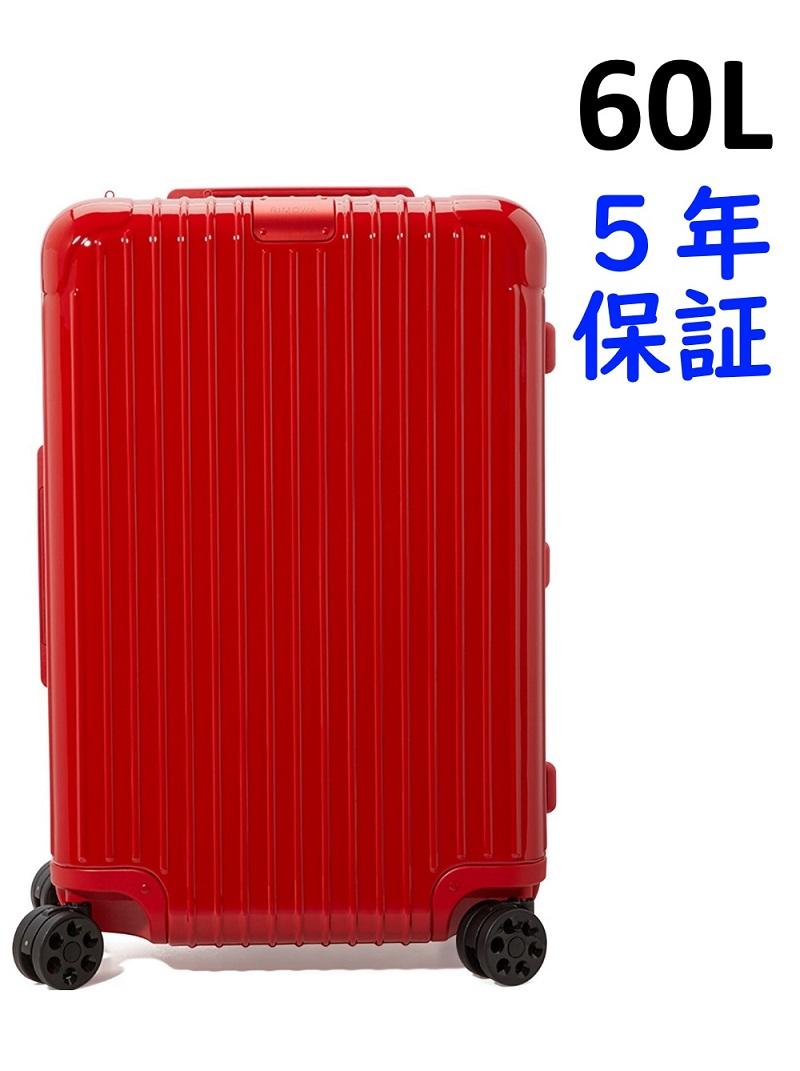 リモワ エッセンシャル 4輪 60L チェックイン M 832.63.65.4 レッド RIMOWA Essential Check-in M スーツケース リモア