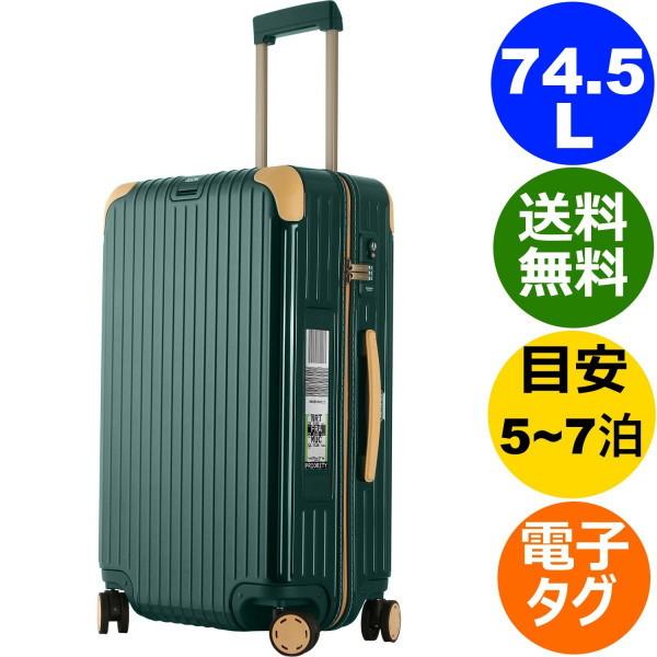 リモワ ボサノバ 4輪 75L グリーン/ベージュ 電子タグ 870.70.41.5 RIMOWA BOSSA NOVA TSA付 スーツケース E-Tag
