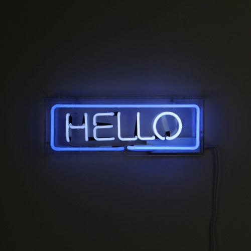 Neon Word (ネオンワード) ネオンサイン 【HELLO】