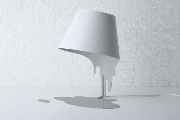 共栄デザイン liquid lamp(リキッドランプ) テーブルスタンド ホワイト 【LED電球】【送料無料】【smtb-s】