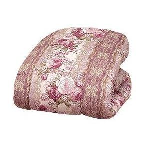 羽毛タッチ高級掛布団 ダブル ピンク