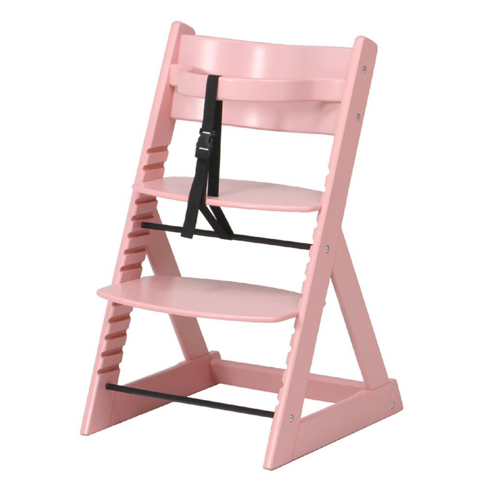グローアップ チェア ベビーチェア キッズ ピンク