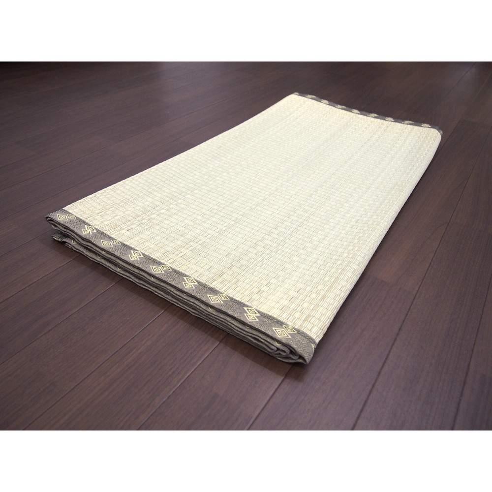 い草 純国産上敷 双目織 千曲川 江戸間6畳 約261X352cm