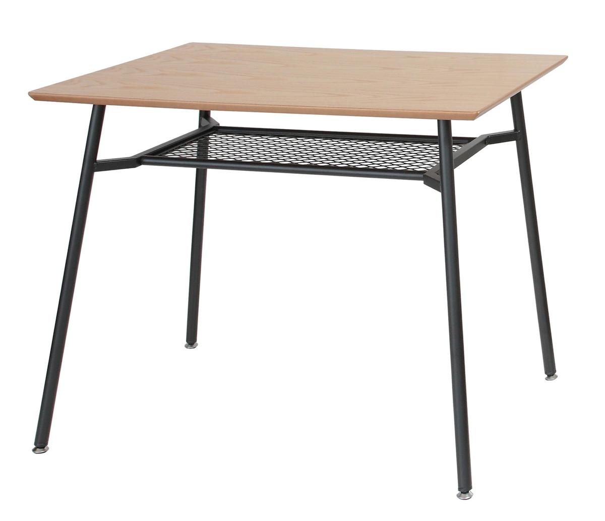 北欧 アンセム オーク材×スチール ダイニングテーブル 食卓